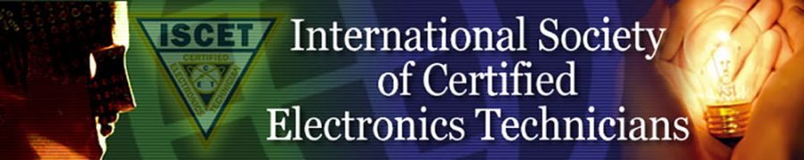 International Society of Certified Electronics Technicians Logo
